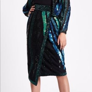 NWT Sequin River Island Skirt